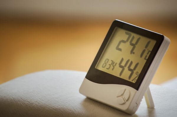 A timer and thermometer