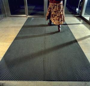 carpet at a door entrance