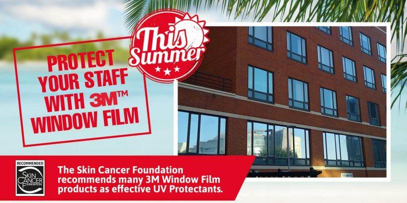 sun protection window film